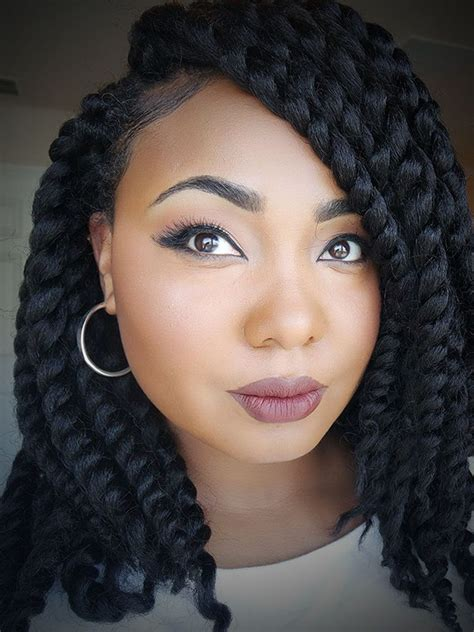 black braids for women over 30 box braids updo hairstyles for black women elle hairstyles