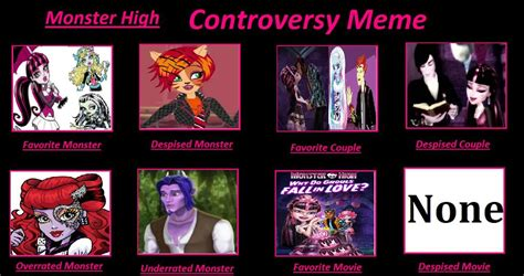 Monster High Memes - my monster high controversy meme by emilyhedgehog67 on