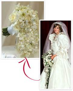 Kate middleton princess diana s wedding album diana s bouquet