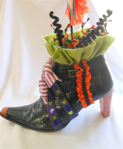Shoe Decorations by If The Shoe Fits Witches Tea Decoration