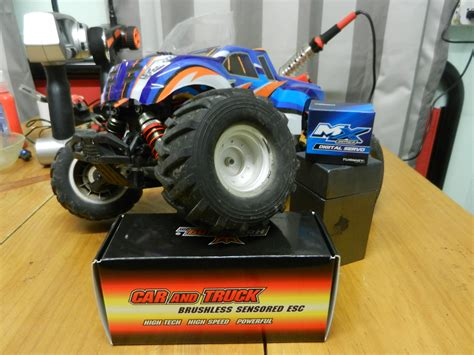 nitro circus rc monster truck nitro circus 1 16 mini monster truck by basher page 5