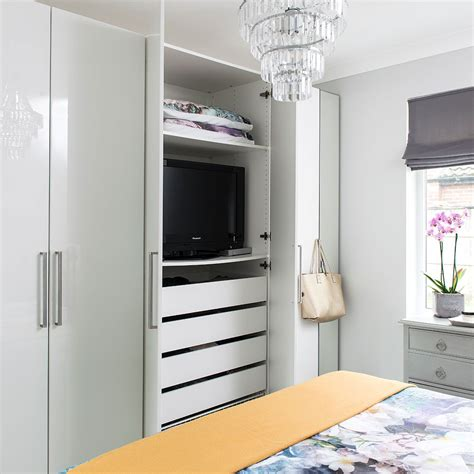 assembled wardrobes ways to disguise your tv hide a tv cabinet tv wall mount