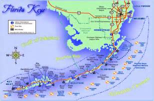 Florida Keys Map where is fei travelling through florida keys