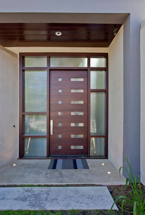 Split Level Front Porch Designs by Unique Front Doors Entry Contemporary With Beige Exterior