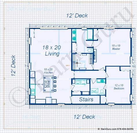 bedroom apt horse barn floor plans   house plan  loft barn house plans barn