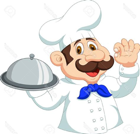 chef clipart best hd chef with ok sign stock vector cook photos