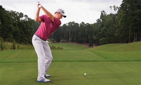 justin rose golf swing video justin rose pipe your driver golf digest