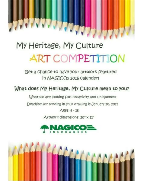 design art competition antigua insurance my heritage my culture art competition