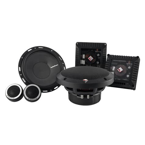 Rockford Fosgate T1650 By Sunda Motor Speaker Coaxial Garansi Resmi rockford fosgate t1650 s power series 6 50 quot 160 watts 2 way fit compatible component system