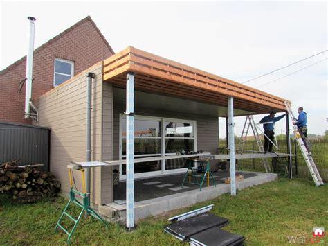 terrasse couverte toiture terrasse couverte 224 laplaigne par tradition toiture
