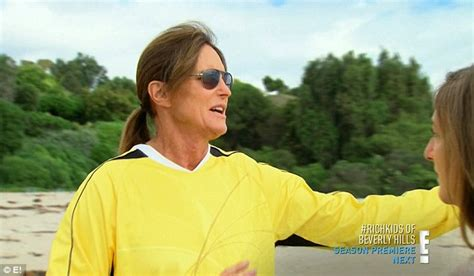 bruce jenner comes out the closet on kuwtk bruce jenner worries about kylie as she comes to grips