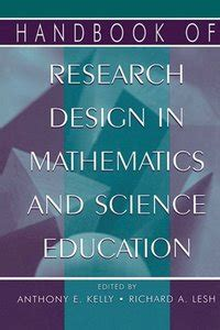 design of experiment handbook handbook of design research methods in education anthony