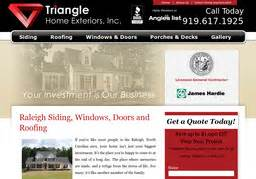 Home Remodeling 5235 by Triangle Home Exteriors Inc On Glenridge Dr In Raleigh