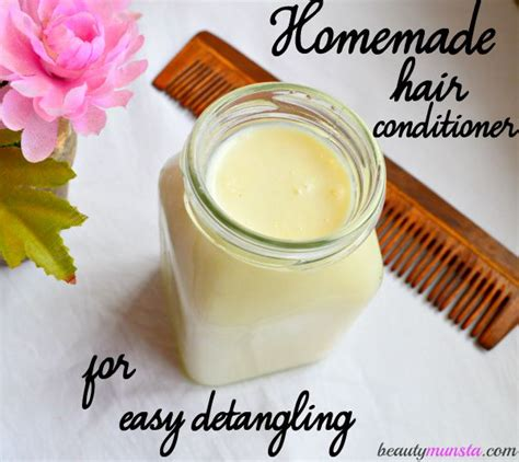 homemade reconstructor for hair detangle easier with this diy shea butter hair conditioner