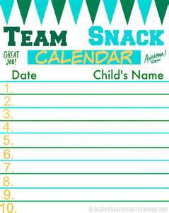 snack schedule template score big on and the field with fruit kabobs recipe