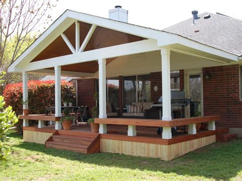 porch designs for small houses covered back yard deck