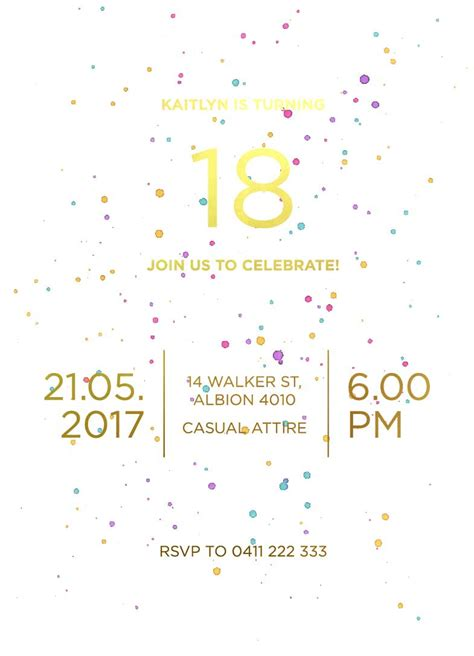 Our Top 10 Birthday Invitation Templates For Teenagers Paperlust Top 10 Templates