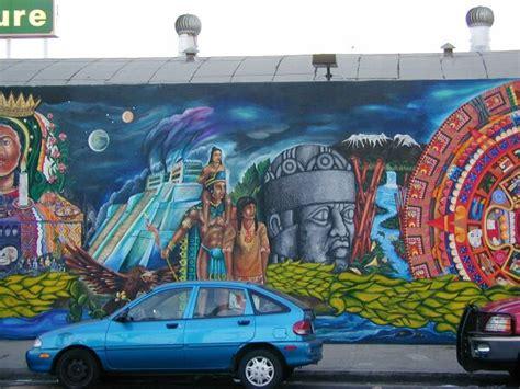 mexico tenochitlan  wall  talks mural