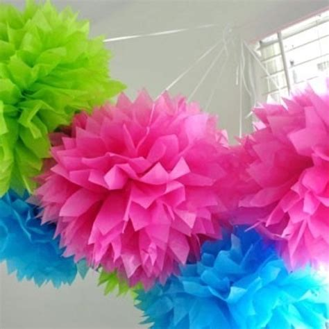 Craft Tissue Paper Flowers - tissue paper flowers crafts