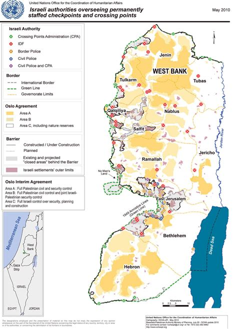 area a west bank irin west bank water worries
