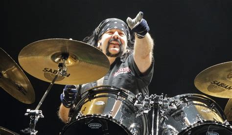 vinnie paul formerly of the band pantera performs in