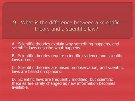 what s the difference between a scientific and ppt mrs shaw s 8 th grade midterm review powerpoint