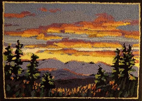 oxford rug hooking 17 best images about oxford punch needle rugs on folk wool and embroidery