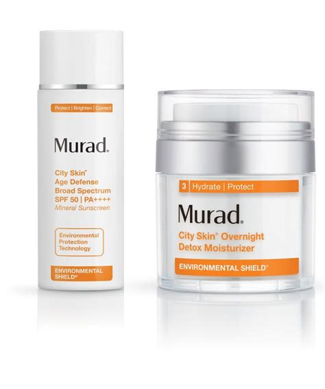 Murad City Skin Overnight Detox Moisturizer Reviews by Murad Launches City Skin Products Fashion Insight