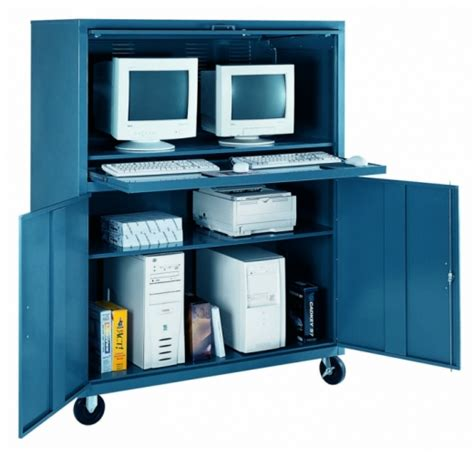 Enclosed Computer Desk Enclosed Computer Cabinet Mf Cabinets