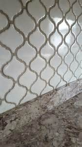 Kitchen Tile Backsplash Images arabesque lantern tile with oyster gray grout home