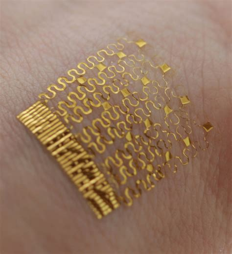 electronic tattoos electronic tracks the heat running through your