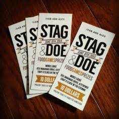 stag tickets template free 1000 images about stag doe ideas on stag