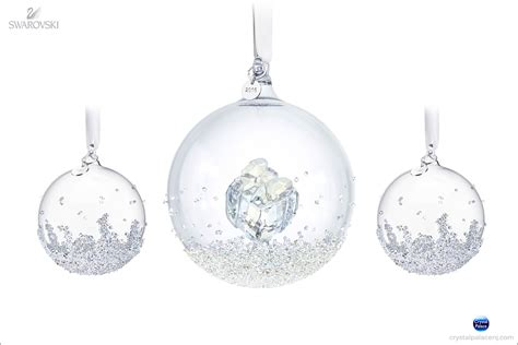 swarovski christmas ball ornament set 2016