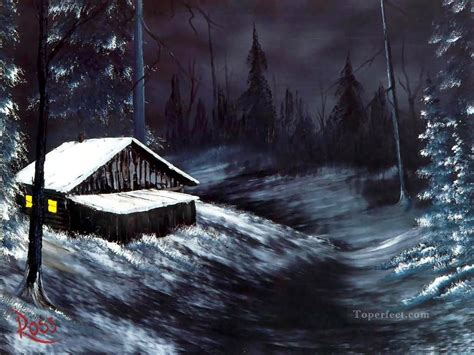 bob ross paintings winter winter bob ross freehand landscapes painting in