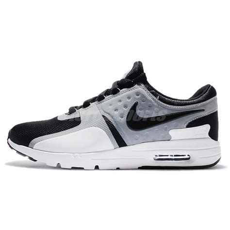 Nike Airmax Zero Raning wmns nike air max zero black white running shoes