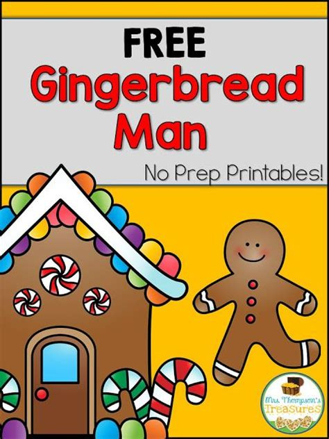 gingerbread man easy reader printable free gingerbread man emergent reader more classroom
