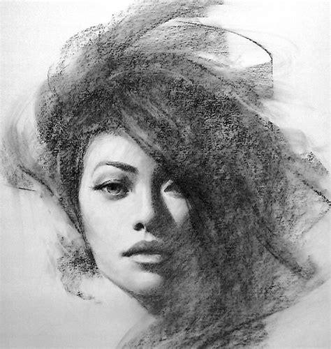 imagenes hermosas a lapiz dibujos de retratos de hermosas mujeres hechos a lapiz