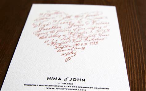 diy wedding invitation letterpress s diy letterpress wedding invitations