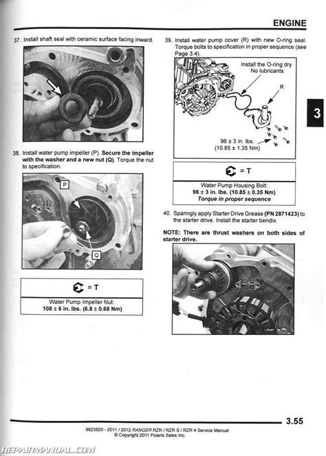 2015 Polaris Ranger RZR 900 RZR 4 900 Service Manual