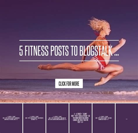 5 Bling Posts To Blogstalk by 5 Fitness Posts To Blogstalk Diet