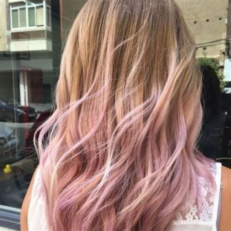 pink highlights hair older women 45 blonde highlights ideas for all hair types and colors