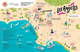Los Angeles Tourist Map by La Tourist Map Related Keywords Amp Suggestions La Tourist