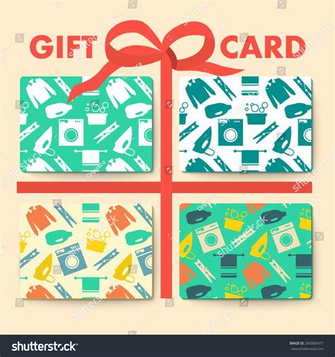 Seamless Gift Cards - gift cards laundry washing seamless pattern stock vector 245956477 shutterstock