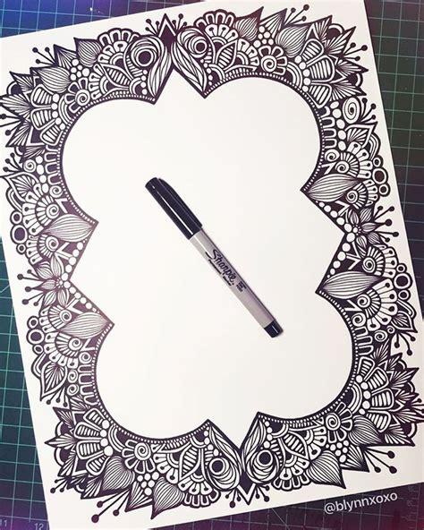 doodle pattern borders 200 best zenspire designs instagram images on pinterest