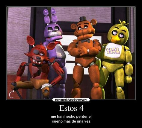 imagenes graciosas five nights at freddy s im 225 genes y carteles de fredys desmotivaciones