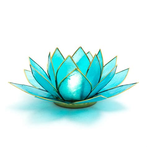 blue lotus flower tea blue lotus flower tea light holder throat chakra