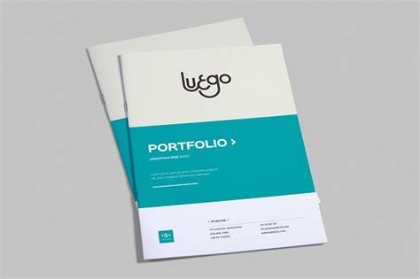 indesign portfolio template brochure templates on