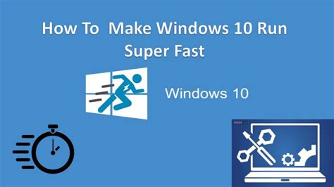 how to make windows 10 faster 5 ways to speed up your pc