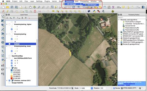 tutorial qgis wien how to export shapefiles from qgis to postgis