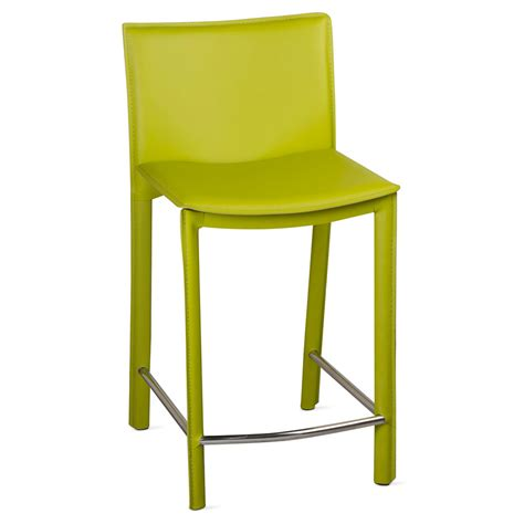 Green Counter Stools by Ellis Modern Green Counter Stool Eurway Furniture